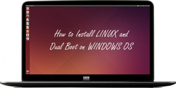 Install Linux and dual boot on windows