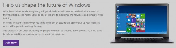 Join Windows 10 Technical Preview