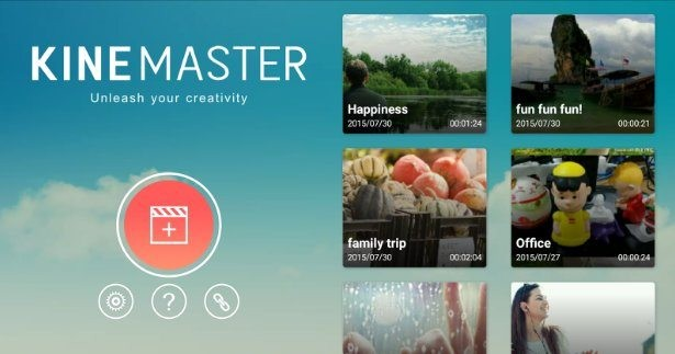 make slow motion videos using Kine Master