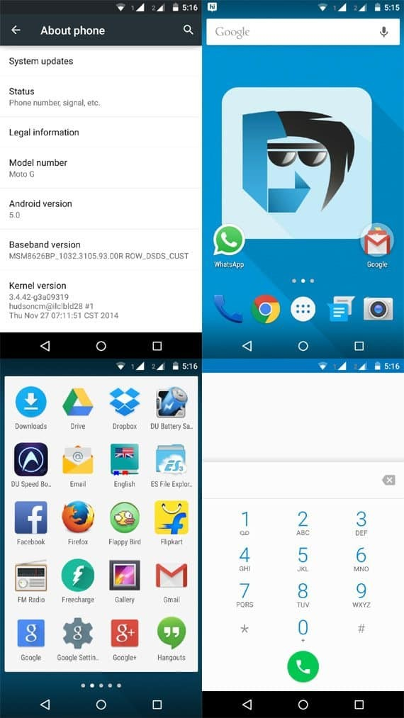 install Lollipop on Moto G