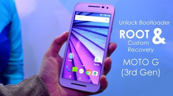 How to root Moto G3