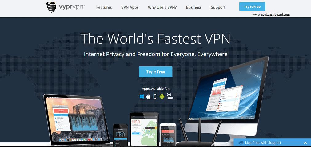 VyprVPN - World's Fastest VPN Service