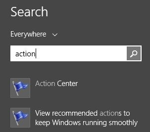 How to use Action center in Windows 10