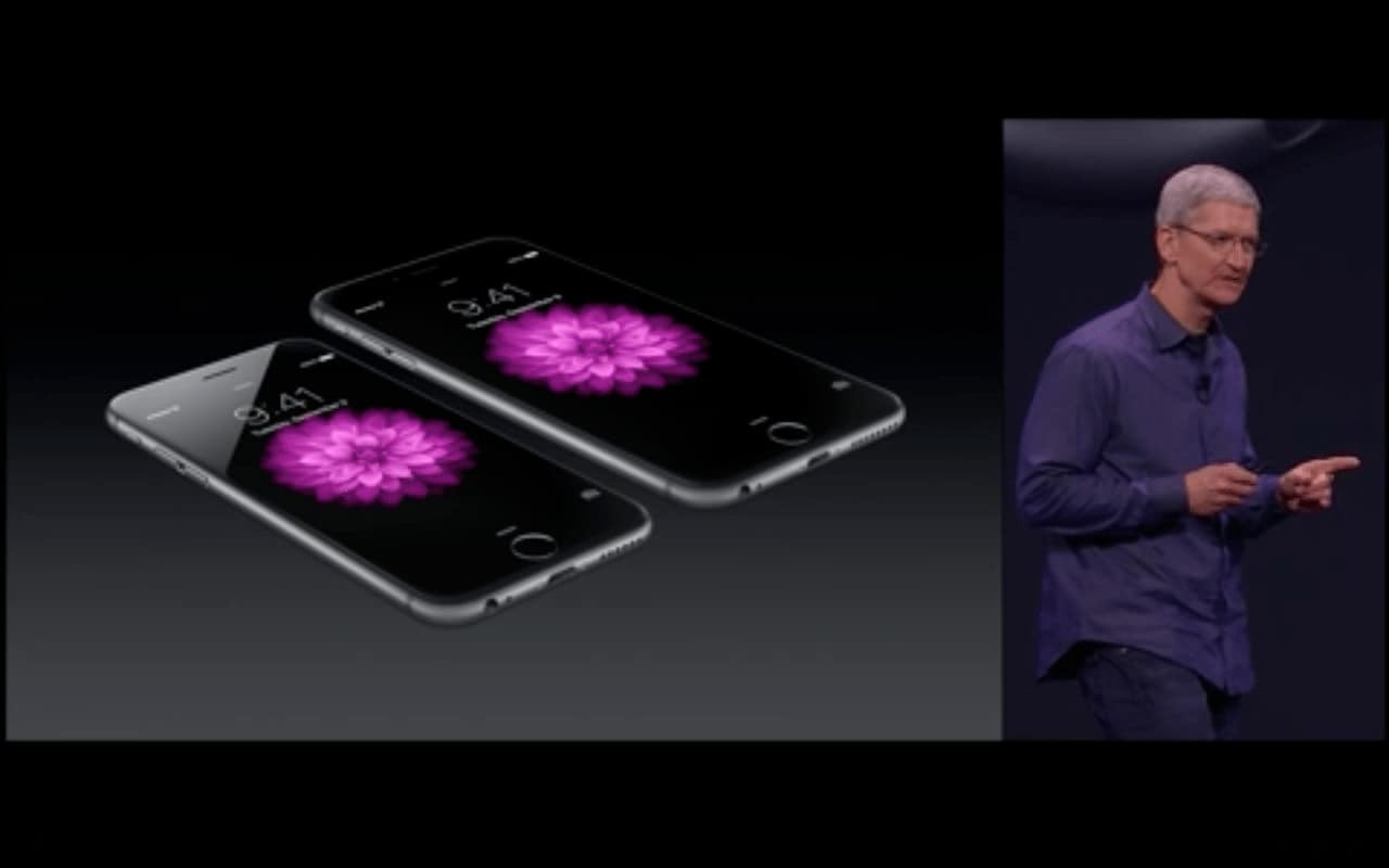 Tim Cook Launching iPhone 6 and iPhone 6 Plus