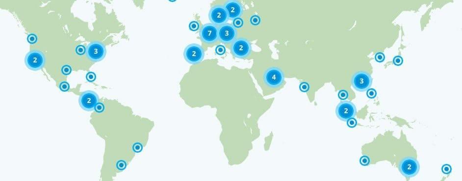 VyprVPN IP Locations