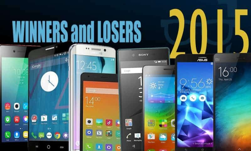 The Winners and Losers of 2015 Smartphone Industry