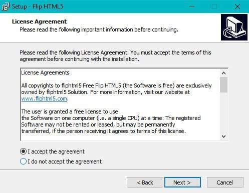 accept-agreement-to-install-flipbook-maker