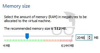 Allocate 40% of RAM