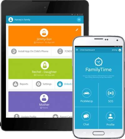 Android Parental Control App