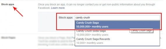 block candy crush saga game requests