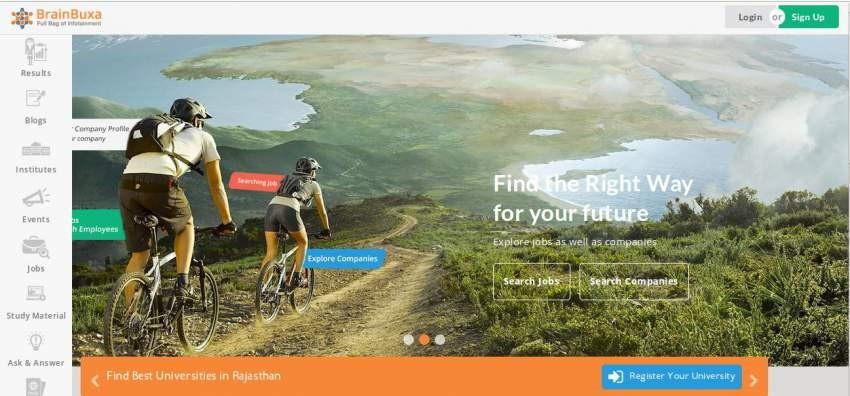 BrainBuxa online educational portal