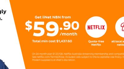 iiNet's NBN internet