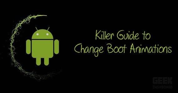 change boot animations