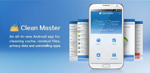 clean master free app for android