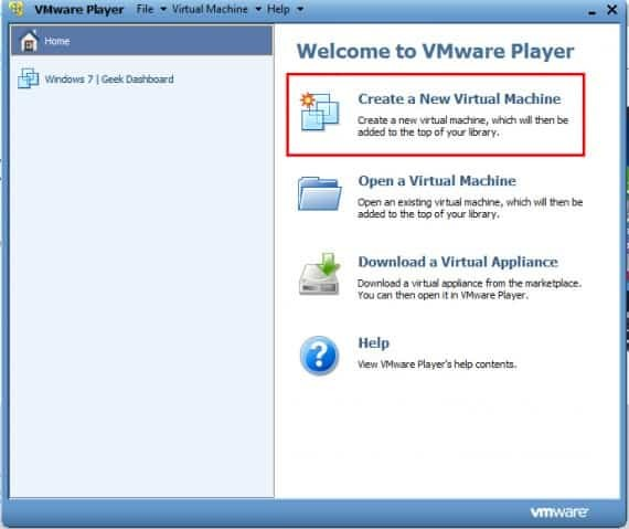 create virtual machine for installing windows 10
