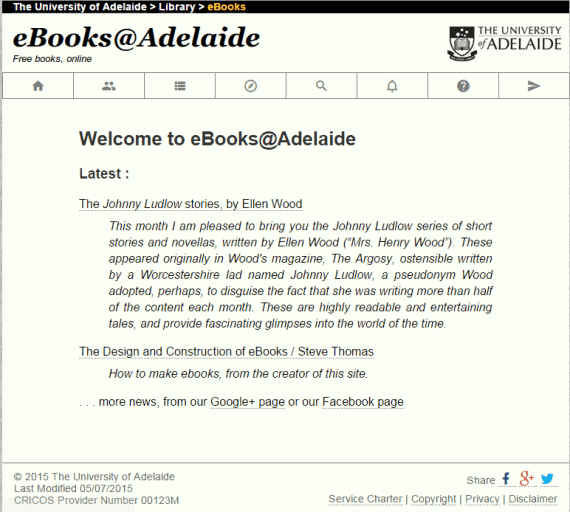 eBooks@Adelaide