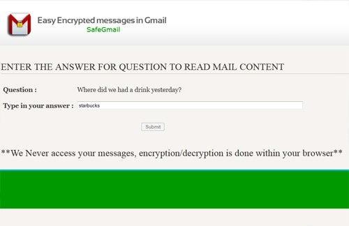 decrypt encrypted email
