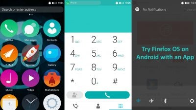 firefox OS 2.5 developer preview