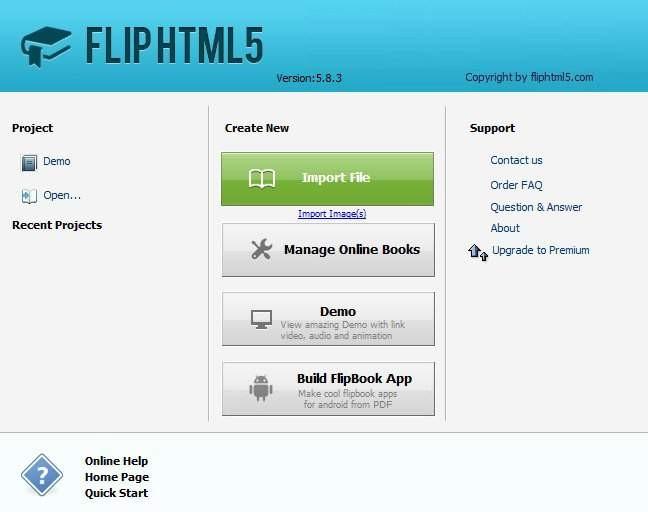 free html5 flipbook maker