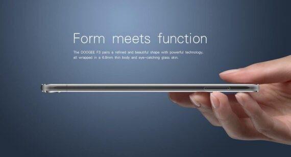 doogee f3 pro 4g smartphone