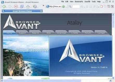 avant browser for windows 10