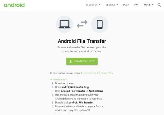 android file transfer not working solved