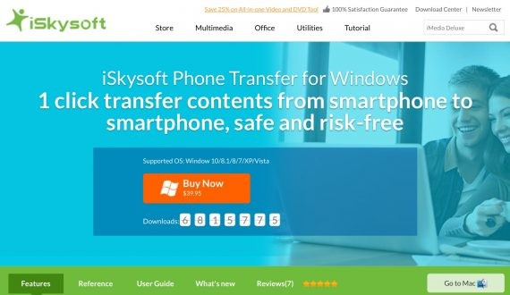 iskysoft software to solve android file transfer not working issue