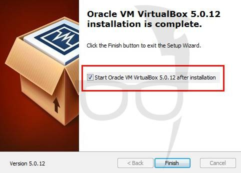 VM VirtualBox is installed