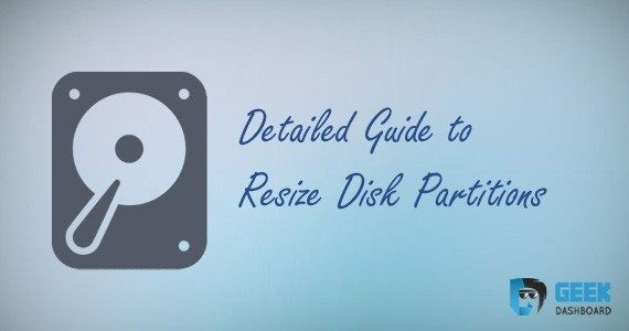 manage disk partitions