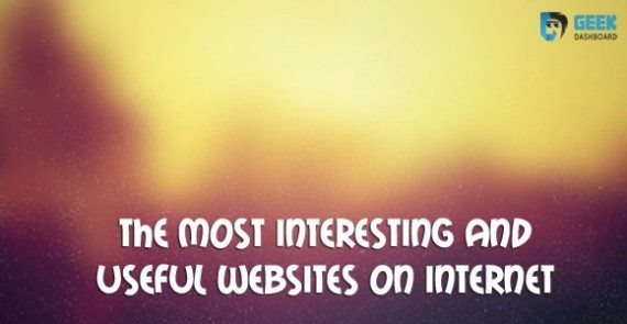 list of most interesting websites on internet