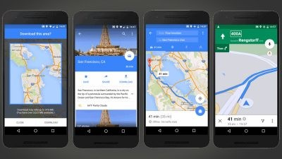 Google maps introduces offline navigation for android