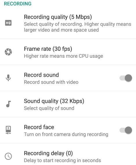 best screen recorder for android