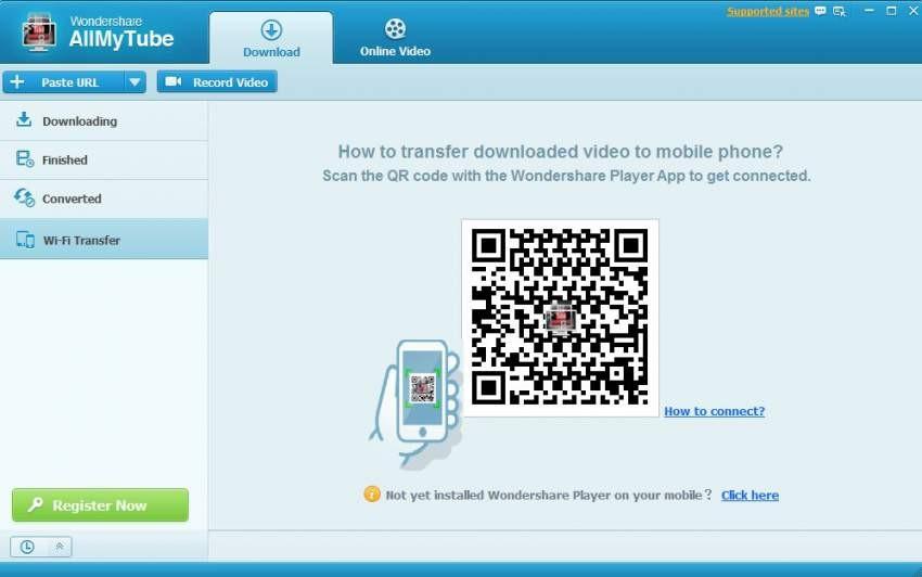 transfer videos