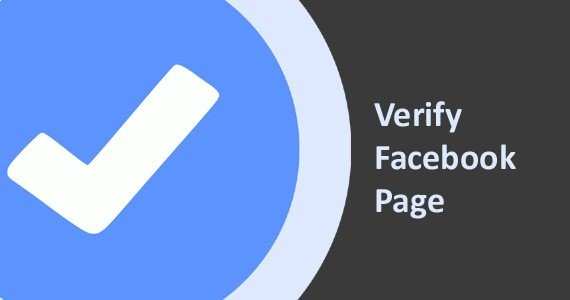 how to verify facebook pages